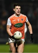 19 January 2019; Niall Grimley of Armagh during the Bank of Ireland Dr McKenna Cup Final match between Armagh and Tyrone at the Athletic Grounds in Armagh. Photo by Oliver McVeigh/Sportsfile