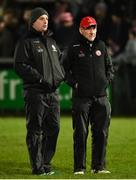 19 January 2019; Tyrone Manager Mickey Harte, right, along with Gavin Devlin assistant manager during the Bank of Ireland Dr McKenna Cup Final match between Armagh and Tyrone at the Athletic Grounds in Armagh. Photo by Oliver McVeigh/Sportsfile