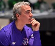 21 January 2019; Charlotte Independence head coach Jim McGuinness during the FAI UEFA Pro Licence course at Johnstown House in Enfield, Co Meath. Photo by Seb Daly/Sportsfile