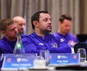 21 January 2019; Former Republic of Ireland international Andy Reid during the FAI UEFA Pro Licence course at Johnstown House in Enfield, Co Meath. Photo by Seb Daly/Sportsfile