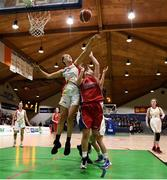 21 January 2019; Katie Williamson of Colaiste Pobaile Setanta in action against Marie Creedon of Presentation SS, Thurles during the Subway All-Ireland Schools Cup U19 B Girls Final match between Colaiste Pobail Setanta and Presentation SS, Thurles at the National Basketball Arena in Tallaght, Dublin. Photo by David Fitzgerald/Sportsfile