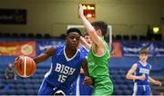 21 January 2019; Tony Ezeonu of St Joseph's Bish, Galway in action against Peter Kennelly of Calasanctius College during the Subway All-Ireland Schools Cup U16 A Boys Final match between Calasantius College and St Joseph's Bish Galway at the National Basketball Arena in Tallaght, Dublin. Photo by David Fitzgerald/Sportsfile