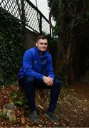 21 January 2019; Conor O'Brien poses for a portrait ahead of a Leinster Rugby press conference at Leinster Rugby Headquarters in UCD, Dublin. Photo by Ramsey Cardy/Sportsfile