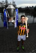 21 January 2019; Defending Allianz Hurling League Division 1 champions Kilkenny have a special incentive to win this year's competition, where another success would see them join Tipperary at the top of the honours' list. Half of Kilkenny's honours have been won since 2002, including a treble in 2012-13-14 and doubles in 2002-03 and 2005-06. Brian Cody's men begin their title defence at home to Cork, who were last crowned Allianz Hurling League champions in 1998. This will be the 27th year of Allianz' partnership with the GAA through their sponsorship of the Allianz Leagues, making it one of the longest sponsorships in Irish sport. It's a very concentrated programme this year, running between next weekend and March 24, when the Division 1 final will be played. In attendance at the launch is Paddy Deegan of Kilkenny with the Allianz Hurling League Division 1 trophy. Photo by Brendan Moran/Sportsfile