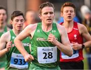 19 January 2019; Liam Brady of Ireland competing in the Senior International mens race during the IAAF Northern Ireland International Cross Country at the Billy Neill Centre of Excellence in Belfast, Co Antrim. Photo by Oliver McVeigh/Sportsfile