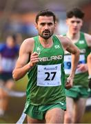 19 January 2019; Mick Dooney of Ireland competing in the Senior International mens race during the IAAF Northern Ireland International Cross Country at the Billy Neill Centre of Excellence in Belfast, Co Antrim. Photo by Oliver McVeigh/Sportsfile