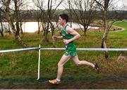 19 January 2019; Paul O'Donnell of Ireland competing in the Senior International mens race during the IAAF Northern Ireland International Cross Country at the Billy Neill Centre of Excellence in Belfast, Co Antrim. Photo by Oliver McVeigh/Sportsfile