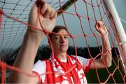 23 January 2019; Chris Forrester poses for a portrait, at Richmond Park in Inchicore, after signing for St Patrick's Athletic's. Photo by Eóin Noonan/Sportsfile