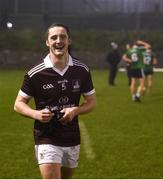 23 January 2019; Kieran Molloy of NUI Galway following the Electric Ireland Sigerson Cup Round 2 match between Queens University Belfast and NUI Galway at The Dub in Belfast, Co Antrim. Photo by David Fitzgerald/Sportsfile