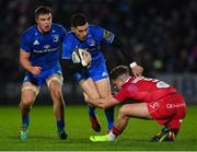 25 January 2019; Noel Reid of Leinster in action against Kieran Hardy of Scarlets during the Guinness PRO14 Round 14 match between Leinster and Scarlets at the RDS Arena in Dublin. Photo by Piaras Ó Mídheach/Sportsfile