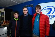 25 January 2019; Guests in The Blue Room with Leinster's Nick McCarthy of Leinster at the Guinness PRO14 Round 14 match between Leinster and Scarlets at the RDS Arena in Dublin. Photo by Harry Murphy/Sportsfile