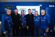 25 January 2019; Guests in The Blue Room with Leinster's Fergus McFadden and Nick McCarthy at the Guinness PRO14 Round 14 match between Leinster and Scarlets at the RDS Arena in Dublin. Photo by Harry Murphy/Sportsfile