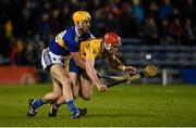 26 January 2019; Niall Deasy of Clare in action against Barry Heffernan of Tipperary during the Allianz Hurling League Division 1A Round 1 match between Tipperary and Clare at Semple Stadium in Thurles, Co. Tipperary. Photo by Diarmuid Greene/Sportsfile