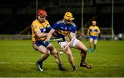 26 January 2019; Ronan Maher of Tipperary in action against John Conlon of Clare during the Allianz Hurling League Division 1A Round 1 match between Tipperary and Clare at Semple Stadium in Thurles, Co. Tipperary. Photo by Diarmuid Greene/Sportsfile