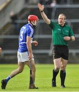 27 January 2019; Referee Johnny Murphy during the Allianz Hurling League Division 1B Round 1 match between Galway and Laois at Pearse Stadium in Galway. Photo by Ray Ryan/Sportsfile