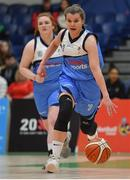27 January 2019; Claire Rockall of Maree during the Hula Hoops Women's Division One National Cup Final match between Maree and Ulster University Elks at the National Basketball Arena in Tallaght, Dublin. Photo by Eóin Noonan/Sportsfile