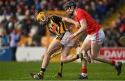 27 January 2019; Billy Ryan of Kilkenny in action against Damien Cahalane of Cork during the Allianz Hurling League Division 1A Round 1 match between Kilkenny and Cork at Nowlan Park in Kilkenny. Photo by Ray McManus/Sportsfile