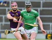 27 January 2019; Declan Hannon of Limerick in action against Paudie Foley of Wexford during the Allianz Hurling League Division 1A Round 1 match between Wexford and Limerick at Innovate Wexford Park in Wexford. Photo by Matt Browne/Sportsfile