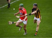 27 January 2019; Aidan Walsh of Cork in action against Enda Morrissey of Kilkenny during the Allianz Hurling League Division 1A Round 1 match between Kilkenny and Cork at Nowlan Park in Kilkenny. Photo by Ray McManus/Sportsfile