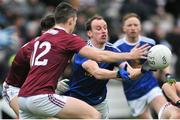 27 January 2019; Martin Reilly of Cavan in action against Johnny Heaney of Galway during the Allianz Football League Division 1 Round 1 match between Galway and Cavan at Pearse Stadium in Galway. Photo by Ray Ryan/Sportsfile