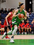 27 January 2019; Allie LeClaire of Courtyard Liffey Celtics during the Hula Hoops Women's Division One National Cup Final match between Courtyard Liffey Celtics and Singleton SuperValu Brunell at the National Basketball Arena in Tallaght, Dublin. Photo by Brendan Moran/Sportsfile
