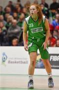 27 January 2019; Sorcha Tiernan of Courtyard Liffey Celtics during the Hula Hoops Women's Division One National Cup Final match between Courtyard Liffey Celtics and Singleton SuperValu Brunell at the National Basketball Arena in Tallaght, Dublin. Photo by Eóin Noonan/Sportsfile
