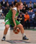 27 January 2019; Sorcha Tiernan of Courtyard Liffey Celtics during the Hula Hoops Women's Paudie O'Connor National Cup Final match between Courtyard Liffey Celtics and Singleton SuperValu Brunell at the National Basketball Arena in Tallaght, Dublin. Photo by Brendan Moran/Sportsfile