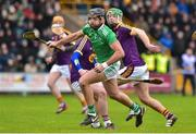 27 January 2019; Colin Ryan of Limerick in action during the Allianz Hurling League Division 1A Round 1 match between Wexford and Limerick at Innovate Wexford Park in Wexford. Photo by Matt Browne/Sportsfile