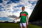28 January 2019; Patrick Durcan of Mayo during the Allianz Football League Media Event at Healy Park in Omagh, Co. Tyrone. Photo by Piaras Ó Mídheach/Sportsfile