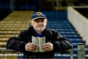 26 January 2019; Tipperary supporter Seamus Fahey, from Crookstown, Co. Kildare, whose family originally come from Cahir, in attendance at the Allianz Hurling League Division 1A Round 1 match between Tipperary and Clare at Semple Stadium in Thurles, Co. Tipperary. Photo by Diarmuid Greene/Sportsfile