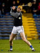 26 January 2019; Seamus Callanan of Tipperary warms up prior to the Allianz Hurling League Division 1A Round 1 match between Tipperary and Clare at Semple Stadium in Thurles, Co. Tipperary. Photo by Diarmuid Greene/Sportsfile
