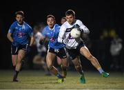 30 January 2019; Liam Silke of University College Dublin in action against David Toner of TU Dublin City Campus during the Electric Ireland Sigerson Cup Round 3 match between UCD and TUDCC at Billings Park in UCD, Dublin. Photo by Eóin Noonan/Sportsfile