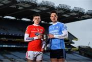 31 January 2019; Darragh Fitzgibbon of Charleville, left, is pictured alongside Niall Burke of Oranmore-Maree, ahead of the AIB GAA All-Ireland Intermediate Hurling Club Championship Final, taking place at Croke Park on Sunday, February 10th. For exclusive content and behind the scenes action throughout the AIB GAA & Camogie Club Championships follow AIB GAA on Facebook, Twitter, Instagram and Snapchat. Croke Park, Dublin. Photo by Sam Barnes/Sportsfile