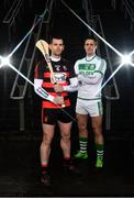 31 January 2019; Colin Fennelly of Ballyhale Shamrocks, left, is pictured alongside Wayne Hutchinson of Ballygunner ahead of the AIB GAA All-Ireland Senior Hurling Club Championship Semi-Final taking place at Croke Park on Saturday, February 9th. For exclusive content and behind the scenes action throughout the AIB GAA & Camogie Club Championships follow AIB GAA on Facebook, Twitter, Instagram and Snapchat. Photo by Sam Barnes/Sportsfile