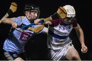 31 January 2019; Michael Carey of UL in action against his brother Sean Carey of UCD during the Electric Ireland Fitzgibbon Cup Group A Round 3 match between University College Dublin and University of Limerick at Billings Park in Belfield, Dublin. Photo by Stephen McCarthy/Sportsfile