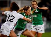 1 February 2019; Eimear Considine of Ireland is tackled by Tatyana Heard of England during the Women's Six Nations Rugby Championship match between Ireland and England at Energia Park in Donnybrook, Dublin. Photo by Ramsey Cardy/Sportsfile