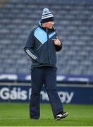 2 February 2019; Dublin manager Mick Bohan prior to the Lidl Ladies NFL Division 1 Round 1 match between Dublin and Donegal at Croke Park in Dublin. Photo by Harry Murphy/Sportsfile