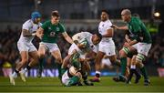 2 February 2019; Tom Curry of England is tackled by Josh van der Flier of Ireland during the Guinness Six Nations Rugby Championship match between Ireland and England in the Aviva Stadium in Dublin. Photo by David Fitzgerald/Sportsfile