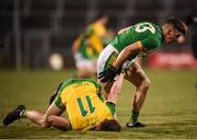2 February 2019; Darragh Campion of Meath in action against Ciaran Thompson of Donegal during the Allianz Football League Division 2 Round 2 match between Donegal and Meath at MacCumhaill Park in Ballybofey, Donegal. Photo by Stephen McCarthy/Sportsfile