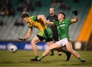 2 February 2019; Hugh McFadden of Donegal in action against Darragh Campion of Meath during the Allianz Football League Division 2 Round 2 match between Donegal and Meath at MacCumhaill Park in Ballybofey, Donegal. Photo by Stephen McCarthy/Sportsfile