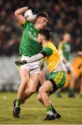 2 February 2019; Darragh Campion of Meath in action against Ryan McHugh of Donegal during the Allianz Football League Division 2 Round 2 match between Donegal and Meath at MacCumhaill Park in Ballybofey, Donegal. Photo by Stephen McCarthy/Sportsfile