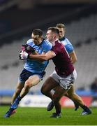 2 February 2019; Cormac Costello of Dublin in action against Cillian McDaid of Galway during the Allianz Football League Division 1 Round 2 match between Dublin and Galway at Croke Park in Dublin.  Photo by Harry Murphy/Sportsfile