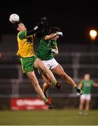 2 February 2019; Michael Langan of Donegal in action against Shane McEntee of Meath during the Allianz Football League Division 2 Round 2 match between Donegal and Meath at MacCumhaill Park in Ballybofey, Donegal. Photo by Stephen McCarthy/Sportsfile