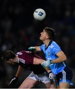 2 February 2019; Michael Fitzsimons of Dublin in action against Thomas Flynn of Galway during the Allianz Football League Division 1 Round 2 match between Dublin and Galway at Croke Park in Dublin. Photo by Piaras Ó Mídheach/Sportsfile