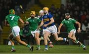 2 February 2019; Seamus Callanan of Tipperary in action against, from left, Dan Morrissey, Tom Morrissey and Colin Ryan of Limerick during the Allianz Hurling League Division 1A Round 2 match between Limerick and Tipperary at the Gaelic Grounds in Limerick. Photo by Diarmuid Greene/Sportsfile