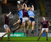 2 February 2019; James McCarthy and Brian Fenton of Dublin in action against Kieran Duggan of Galway during the Allianz Football League Division 1 Round 2 match between Dublin and Galway at Croke Park in Dublin. Photo by Harry Murphy/Sportsfile