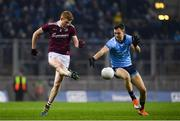 2 February 2019; Kieran Duggan of Galway in action against Dean Rock of Dublin during the Allianz Football League Division 1 Round 2 match between Dublin and Galway at Croke Park in Dublin. Photo by Harry Murphy/Sportsfile