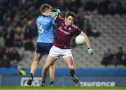 2 February 2019; Barry McHugh of Galway in action against Michael Fitzsimons of Dublin during the Allianz Football League Division 1 Round 2 match between Dublin and Galway at Croke Park in Dublin. Photo by Harry Murphy/Sportsfile