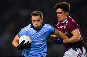 2 February 2019; Dean Rock of Dublin in action against Seán Kelly of Galway during the Allianz Football League Division 1 Round 2 match between Dublin and Galway at Croke Park in Dublin. Photo by Piaras Ó Mídheach/Sportsfile