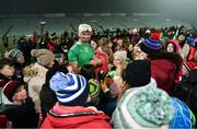 2 February 2019; Kyle Hayes of Limerick signs autographs for supporters after the Allianz Hurling League Division 1A Round 2 match between Limerick and Tipperary at the Gaelic Grounds in Limerick. Photo by Diarmuid Greene/Sportsfile